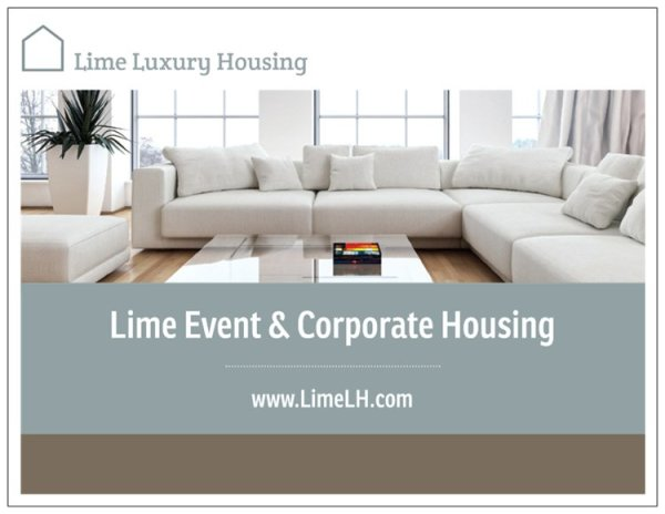 Lime Event Housing