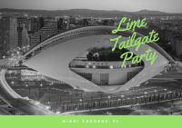 Lime Tailgate Party during Superbowl LIV - (54th Edition)™