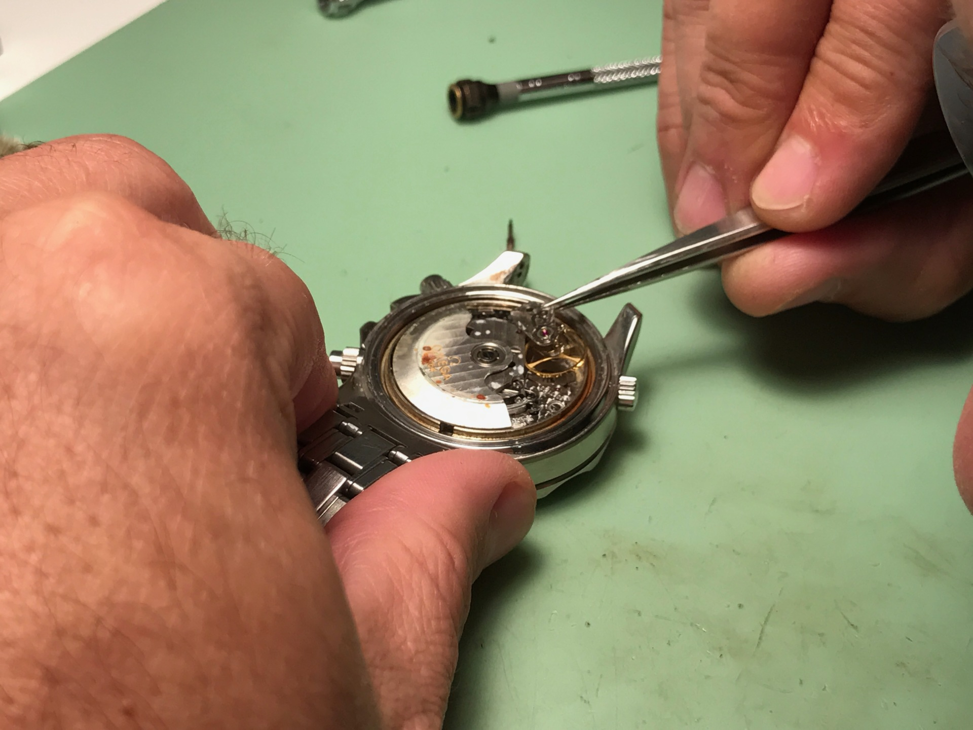 Battery changing and watch repair
