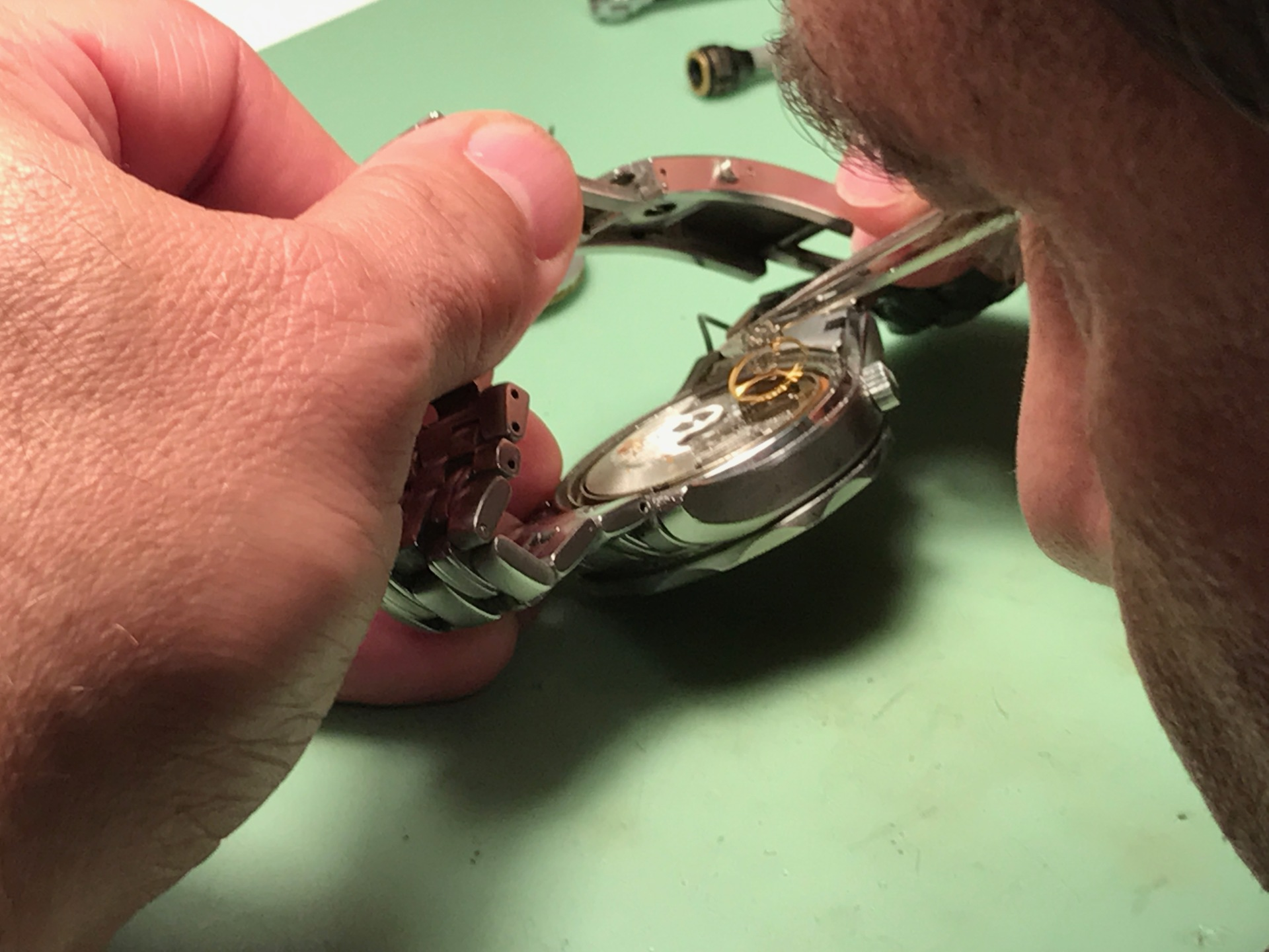 Experienced watchmaker