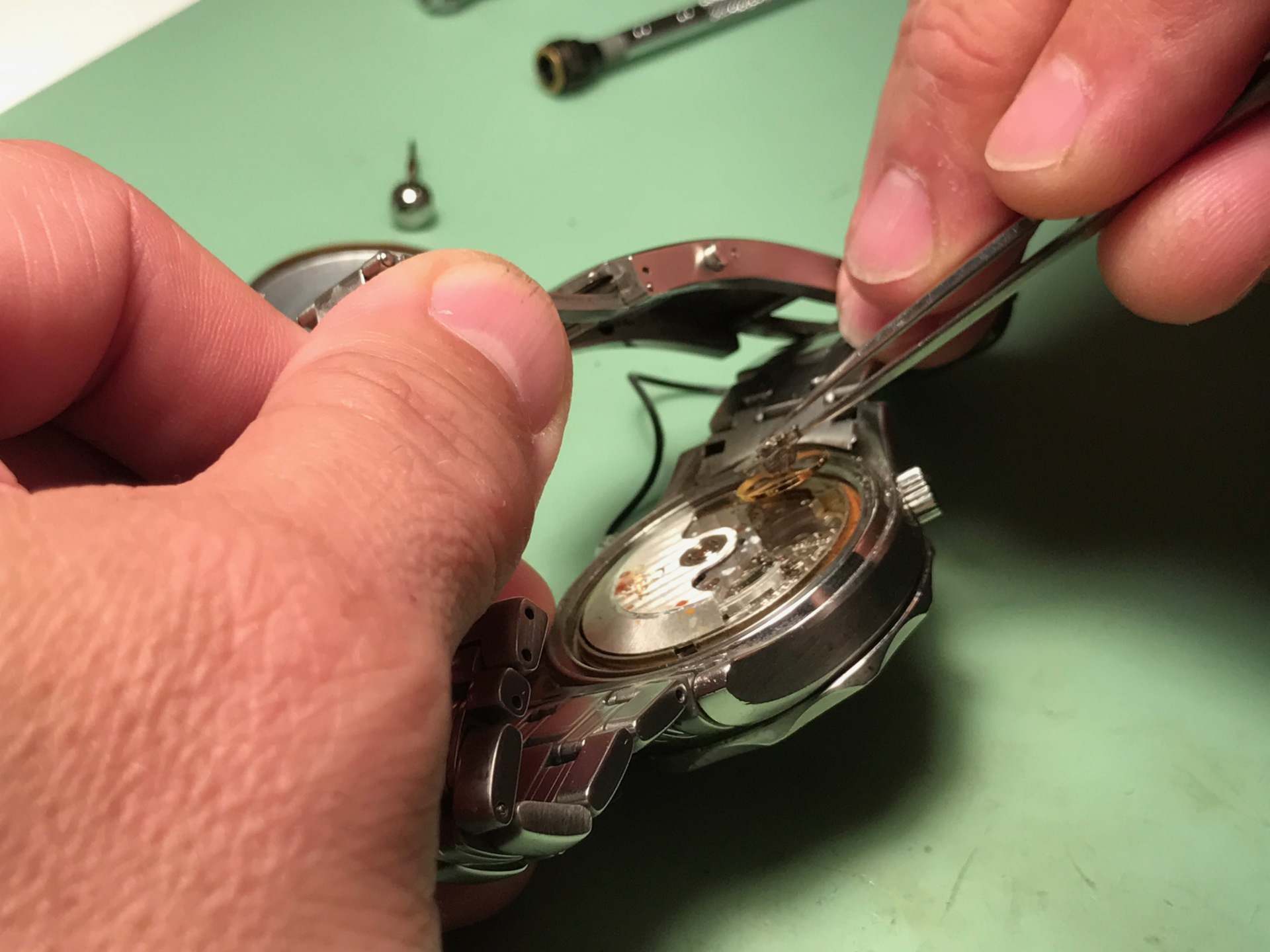 Professional watch repairs