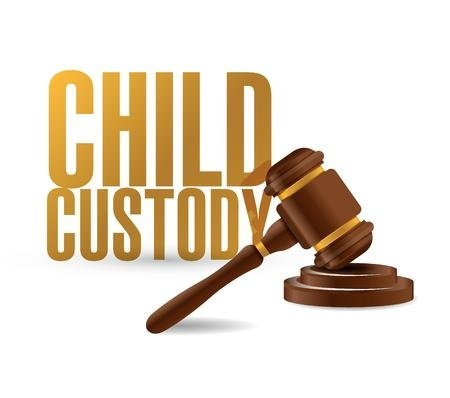 child custody and gavel