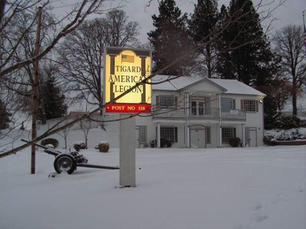 Snow day at post 158