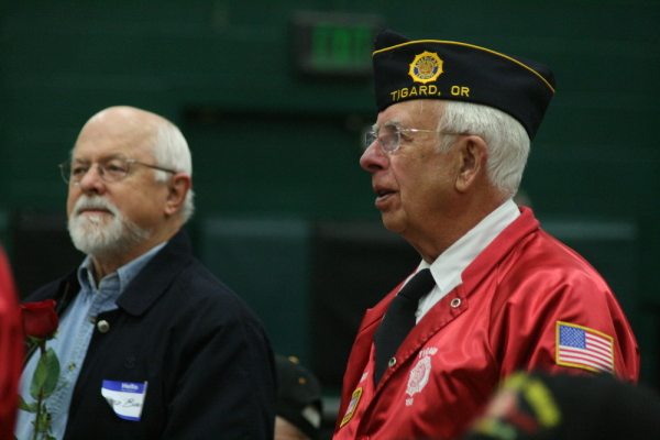 Veteran's Day Tigard High School Event