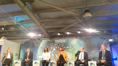 "BBC's Global Question ""Syria's Refugee Crisis: No End in Sight?"""
