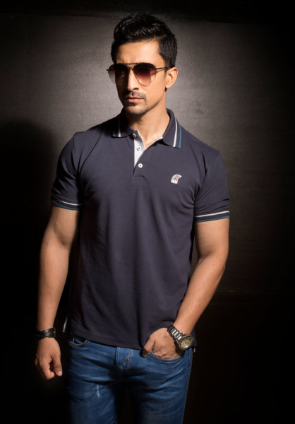 Mens Navy Blue Classic Polo Style #P001