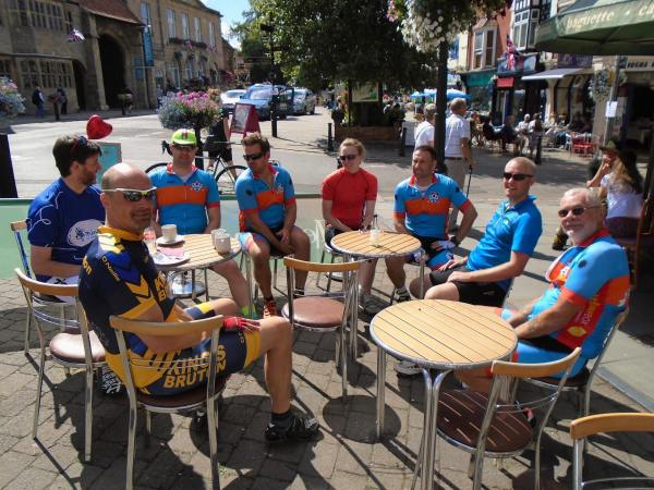Saturday Morning Ride Cafe Stop