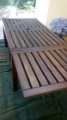 Renovando a sua mesa de jardim! Fácil!