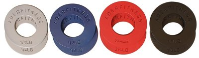 Small fractional weight plates