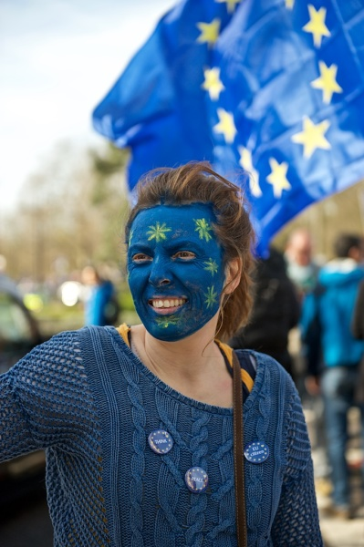 Marching for Europe, London 25.March.2017
