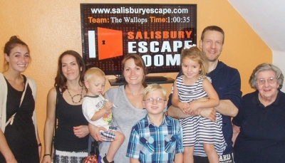 Salisbury Escape Rooms Families