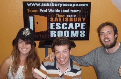 Salisbury Escape Rooms Friends