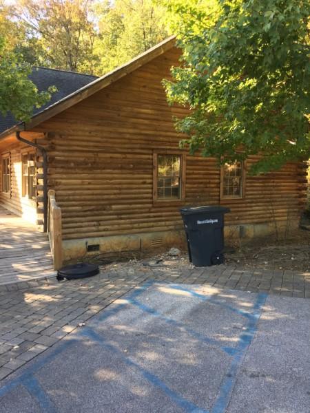 Log Cabin Model