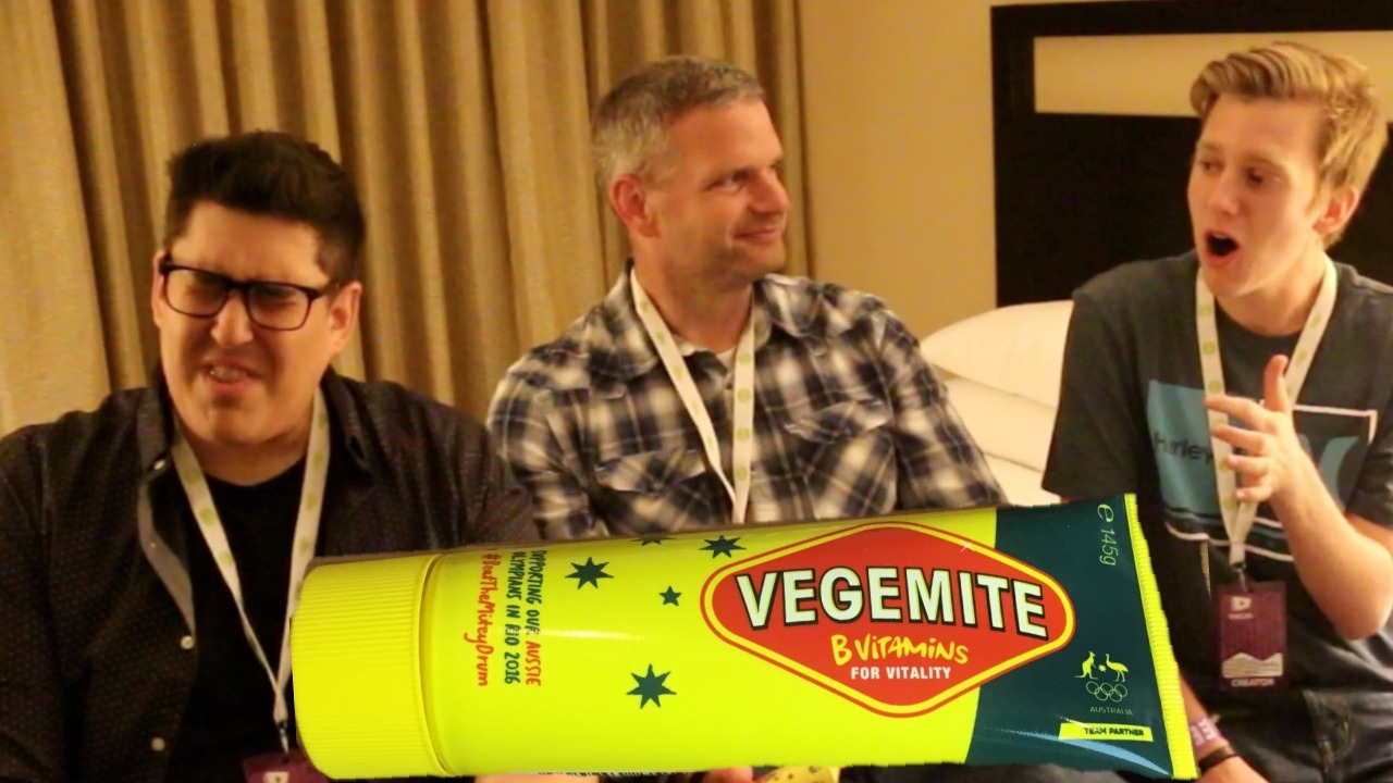 James Lamprey, FunFoodsYT, Vegemite, VidCon, Collaboration, Joshua George, Chris Bruning