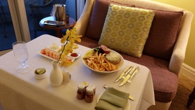 Have you ever had a burger at Ritz-Carlton?