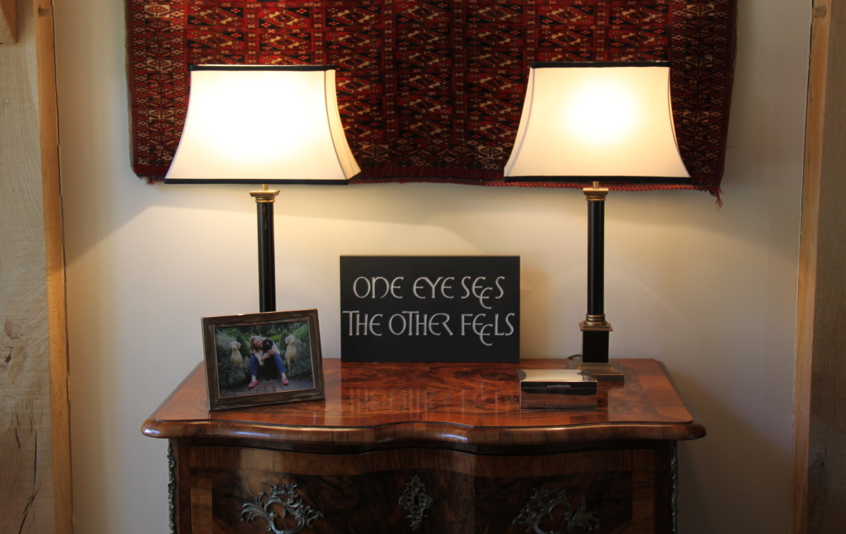 One Eye Sees the other Feels by Lisi Ashbridge