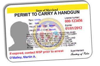 Maryland Wear & Carry Permit