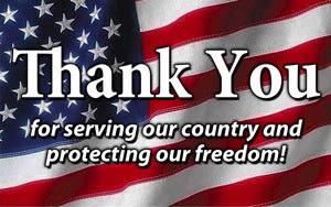 Thank you First Responders & Military