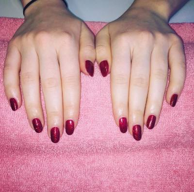 Gelish nails