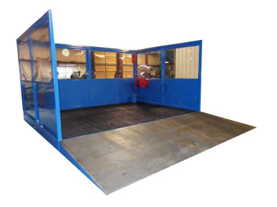 Intercont Custom Built Wash Bays and Spray Booths