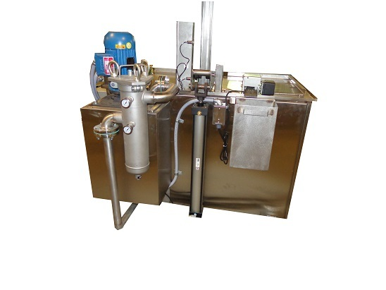 Immersion Washer, Immersion Machine, Intercont Immersion Part Washer