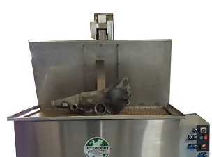 Stainless Steel Immersion Washer, Intercont Immersion Part Washer, Immersion Part Washer, Immersion Machine