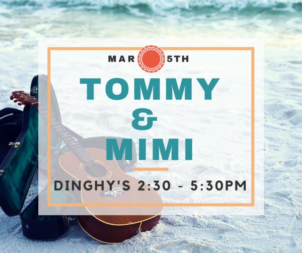 Mimi & Tommy at Dinghy's!