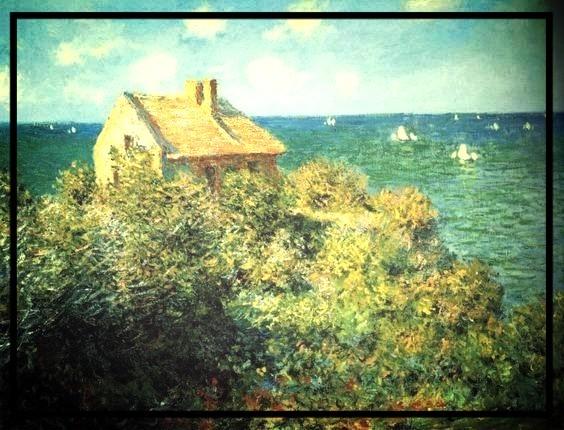 Monet House on Cliff