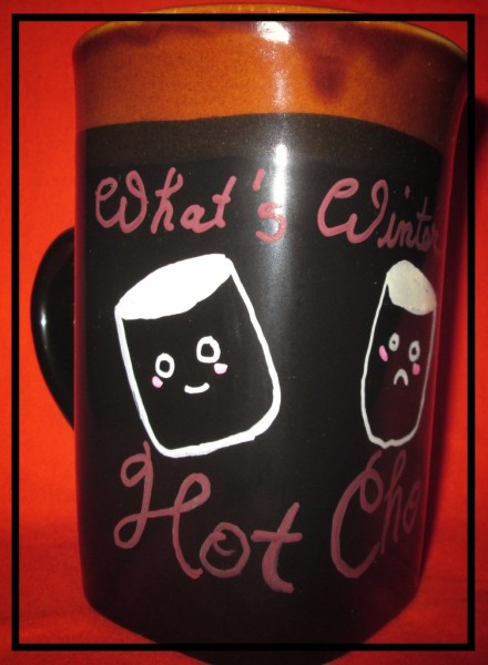 Hot Chocolate Mug - available in our glassware section.