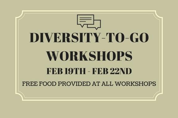 BDLA Event! Diversity-To-Go Workshops!