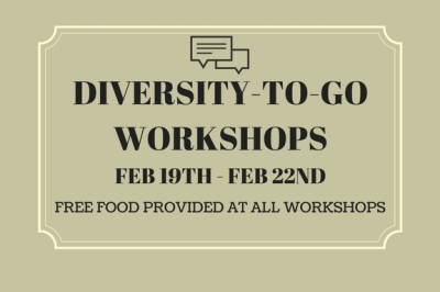 BDLA Event! Diversity-To-Go Workshops!