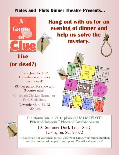 """Clue """"Live"""""""