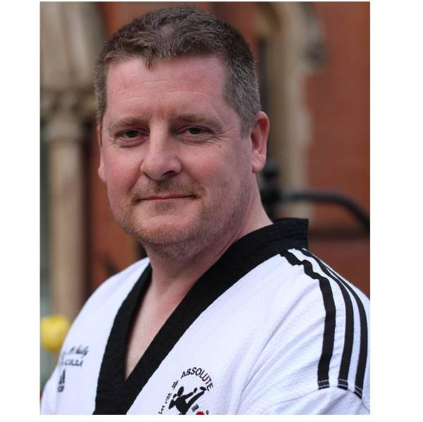 Master John McNally tkd instructor of martial arts classes