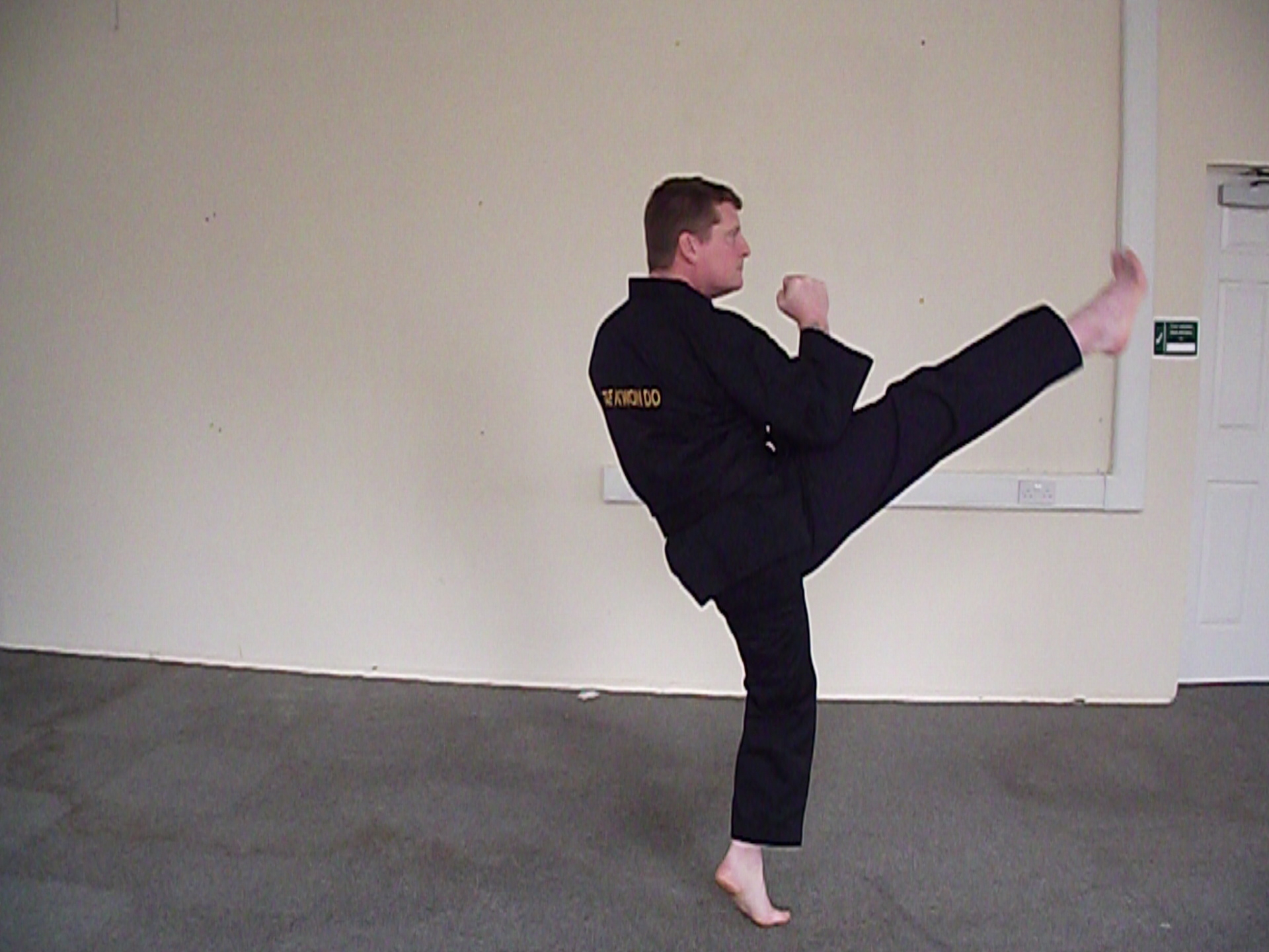High Section front Kick