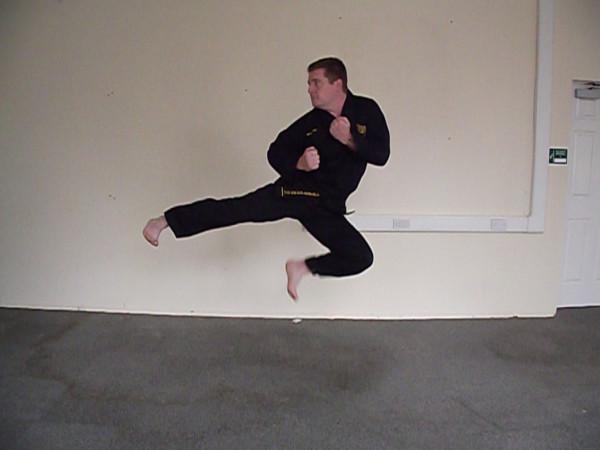 TKD Jump side kick 2011