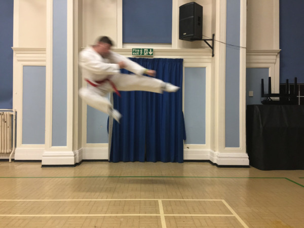 flying jump side kick 2017