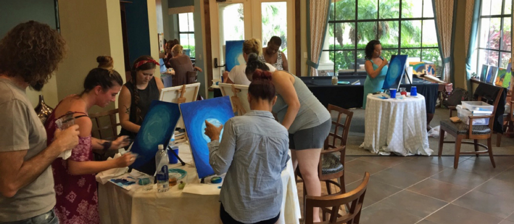 Palm Harbor Creative Arts Center Art Class