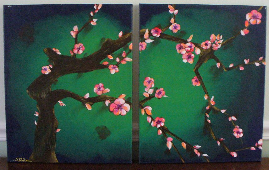 Palm Harbor Creative Arts Center Cherry Blossoms Class