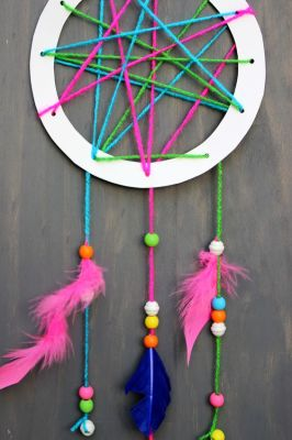 Palm Harbor Creative Arts Center Dream Catcher Class