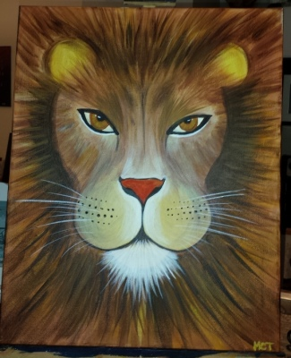 Palm Harbor Creative Arts Center Lion Heart