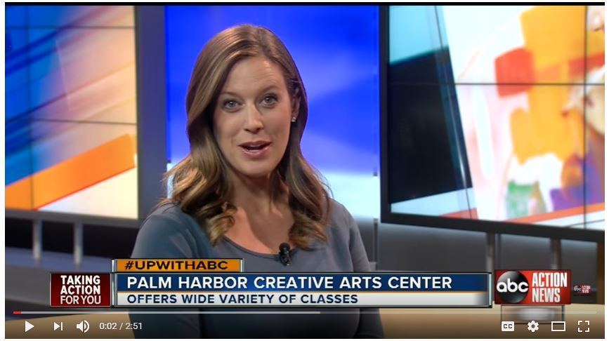 Palm Harbor Creative Arts Center News Cast