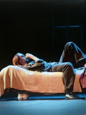 KURKI-PERTTI - Maa on syntinen laulu, Kuopion kaupunginteatteri 2004
