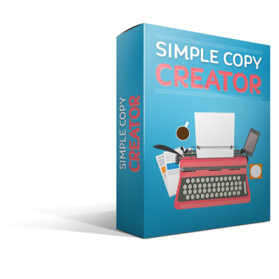 Simple Copy Creator Review - SECRET of Simple Copy Creator