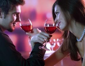 Romantic couple
