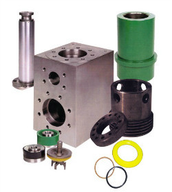 Mud pump fluid end parts