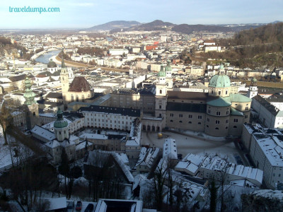 Winter Wanderland: Salzburg, Austria.