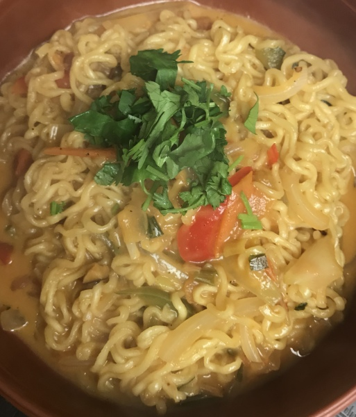 Spicy noodle w/ cheese $9.99
