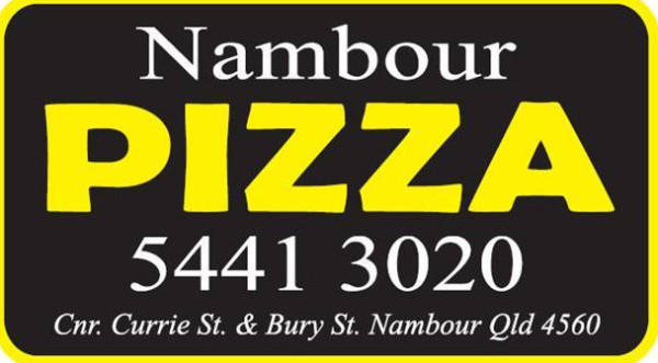 Nambour Pizza serves Nambour, Burnside, Yandina, Woombye, Rosemount with the best quality Pizza's Open Monday to Friday 12 noon to 9 pm, Saturday & Sunday 4 pm to 9 pm, Nambour Pizza is open now 07 5441 3020 shop@nambourpizza.com.au