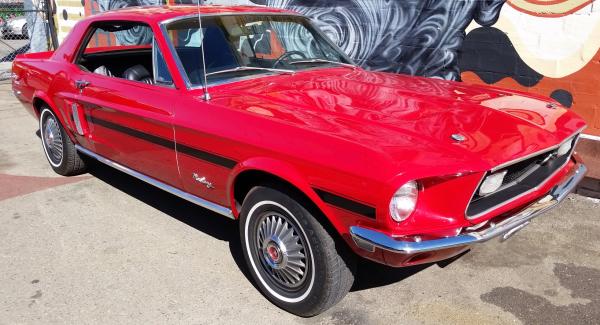Mustang California Special, mustang