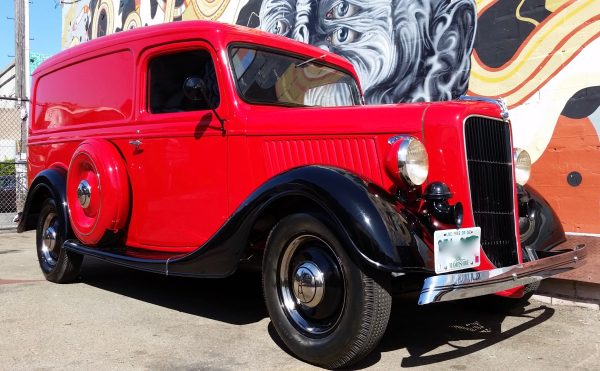36 ford, ford panel, panel van